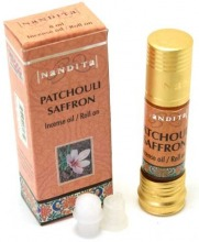 Ätherisches Öl  Patchouli-Safron (Roll-On) HK:Indien 8ml
