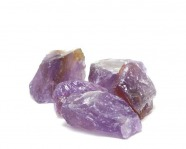Amethyst - Rohsteinchips, 100 Gramm, 25 - 45 mm
