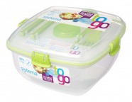 Sistema Lunchbox To Go + Kühlelement + Besteck...