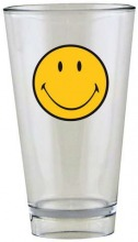 ZAK Smiley Klassik Becher transparent 33 cl