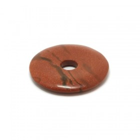Goldfluss rot - Donut, 40 mm