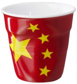 Revol Knickbecher Espresso 0,08 Flagge China